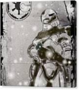 The Snowtrooper Canvas Print