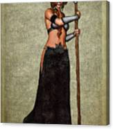 The Sorceress Mage Canvas Print