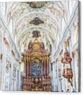 Lucerne's Jesuit Church  Canvas Print