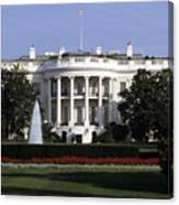 The South Side Of The White House Canvas Print