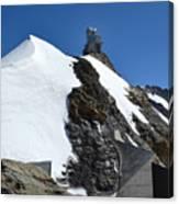 The Sphinx At Jungfrau Canvas Print