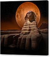 The Sphinx Canvas Print