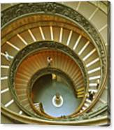 The Spiral Staircase Canvas Print