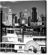 The Spirit Of America And Cincinnati  Canvas Print