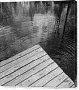 The Spirits Of Kripplebush Pond Canvas Print