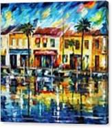 The Spirit Of Miami  Canvas Print
