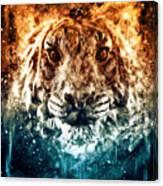The Spirit Tiger Canvas Print