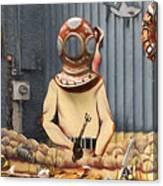 The Sponge Factory Canvas Print