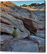 The Spotlight Fades At Valley Of Fire Canvas Print
