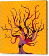 The Spotted Tree Canvas Print