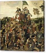 The St Martin's Day Kermis Canvas Print