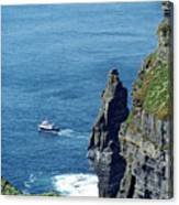The Stack And The Jack B Cliffs Of Moher Ireland Canvas Print