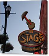 The Stage Nashville Canvas Print
