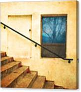 The Stairway Of Reflections Canvas Print