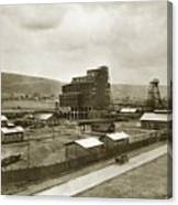 The Stanton Colliery Empire St. The Heights Wilkes Barre Pa Early 1900s Canvas Print