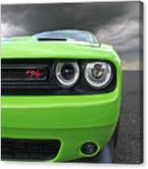 The Stare - Challenger Rt Canvas Print