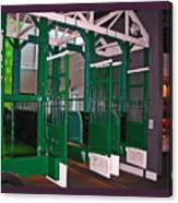 The Starting Gate Display In The Kentucky Derby Museum Canvas Print