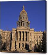 The State Capitol Building Canvas Print