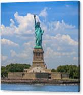 The Statue Of Liberty In New York City Canvas Print