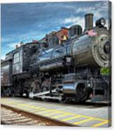 The Steam Engine #401 Canvas Print