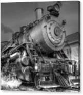 The Steam Engine  Canvas Print