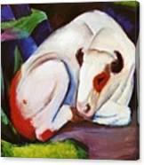 The Steer The Bull 1911 Canvas Print
