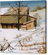 The Stein Barn Canvas Print