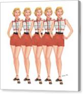 The Stepford Wives Canvas Print