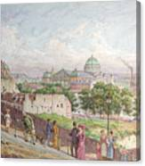 The Steps At The Rue Alboni Canvas Print