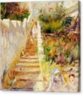 The Steps In Algiers Canvas Print