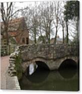 The Stone Bridge Canvas Print