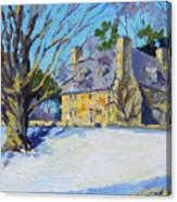 The Stone House Canvas Print