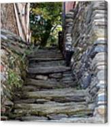 The Stone Stairs Canvas Print