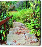 The Stone Steps Canvas Print