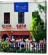 The Stonewall Inn National Monument Canvas Print