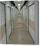 The Storage  Row Canvas Print