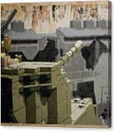 The Storming Of Berlin Canvas Print