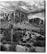 The Stormy Superstitions Canvas Print