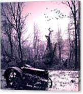 The Straggler...thurston Hollow Pa. Canvas Print