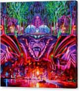 The String Cheese Incident-hulaween Canvas Print