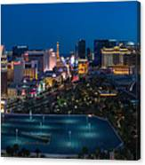 The Strip Las Vegas Canvas Print