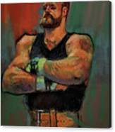 The Strongman Canvas Print