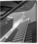 The Structures Of San Francisco 3 Canvas Print
