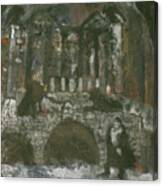Tarelkin's Death Canvas Print