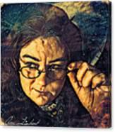 The Stumbling Aspirant Canvas Print
