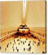 The Stunning Oculus In New York  Canvas Print