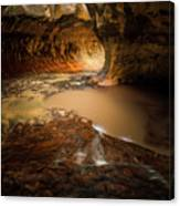 The Subway - Zion National Park Canvas Print