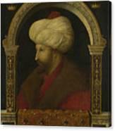 The Sultan Mehmet II Canvas Print