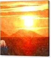 The Sun Dance Canvas Print