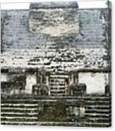 The Sun God Temple Canvas Print